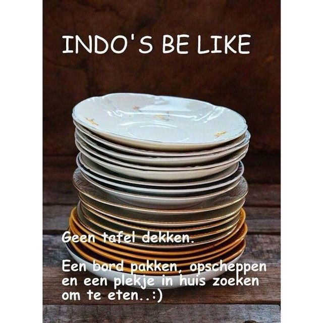 Indo's Be Like