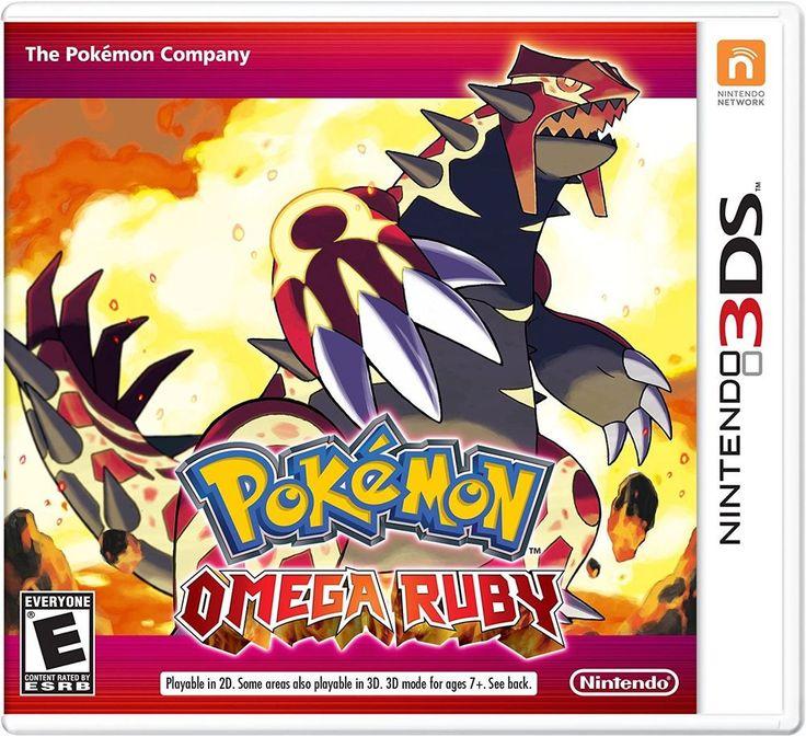 Pokemon Omega Ruby (Nintendo 3DS, 2014) Brand New US Version #Nintendo