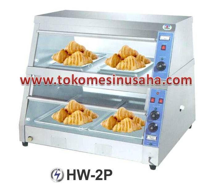 Food Warmer adalah rak yang didesign khusus untuk menghangatkan makanan siap saji, seperti pizza, bakmi, aneka lauk dan sayur.  Type : HW-2P  Dimensi : 96 x 75 x 89 cm  Daya : 220 V / 1 P  Power : Dry heater atas : 1400 W  Dry heater bawah : 1400 W  Wet heater bawah : 1000 W  Berat : 45 Kg