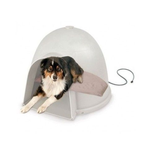 Heated Dog Bed Electric Pet Cat Pad Blanket Heating Warmer Heater House Igloo #KHPetProducts