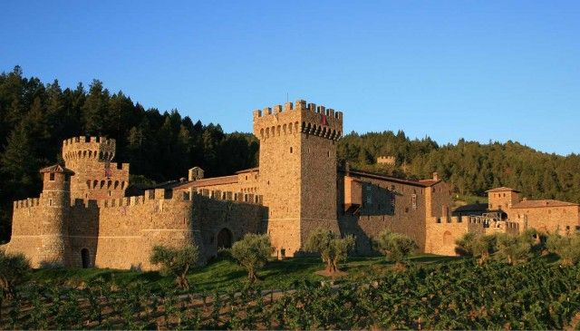 Castello Di Amorosa, Calistoga, Napa, California #vinoyarquitectura #winelover #amantedelvino #wine #vino #vi