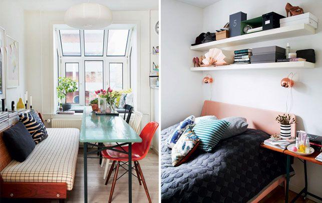 Ideer til små hjem: 90 kvadratmeter til bofællesskab