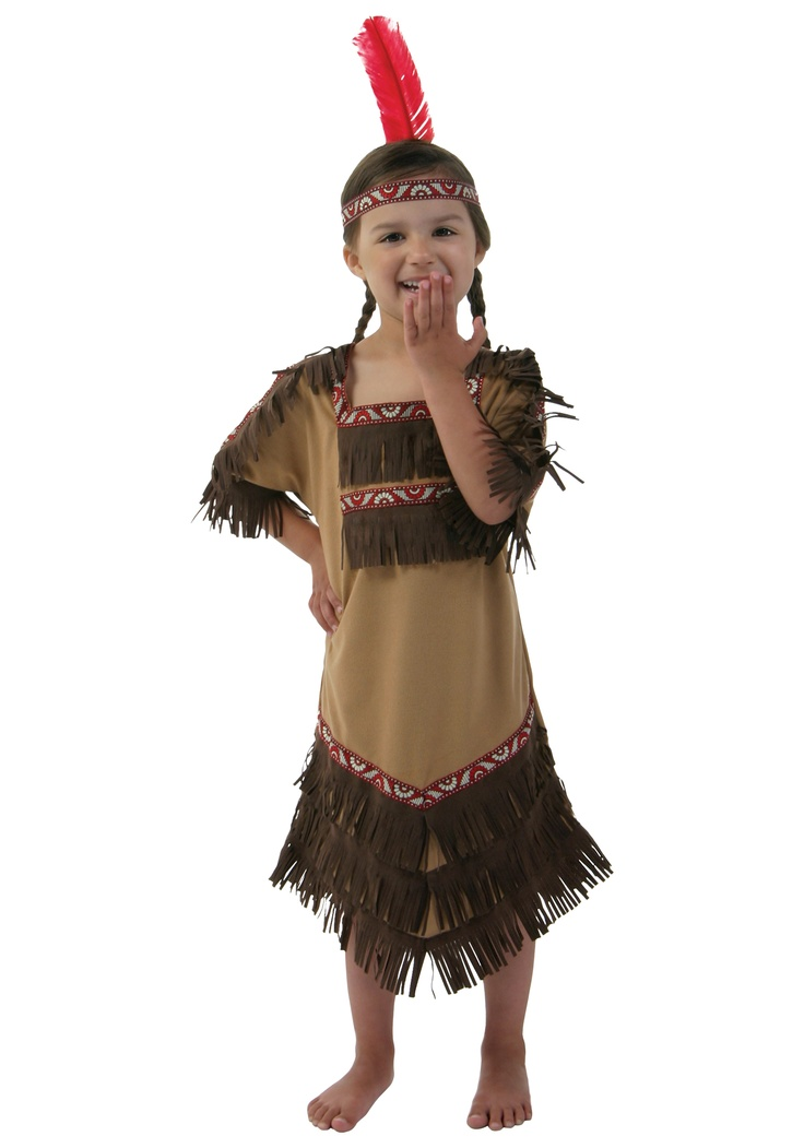 Indian Girl Costume.