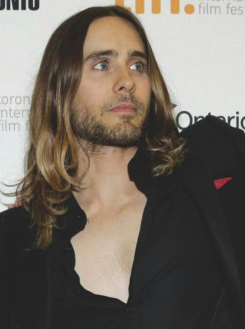 Jared Leto - a man i wouldn't mind looking like.