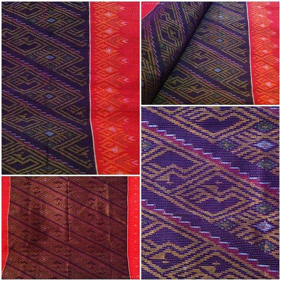 Jaspery Thai Silk: King of Nagas | 2 yards | MTD08