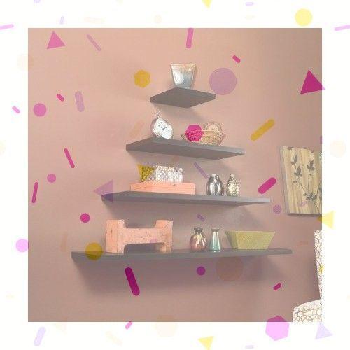 DIY Floating Shelves – 6 Stupefying Cool Tips: Flo…