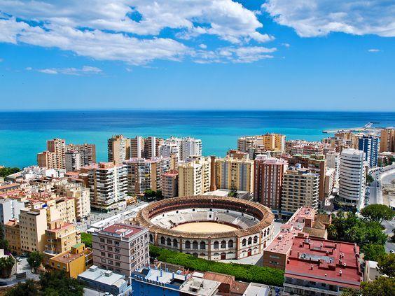 Málaga, Dél-Spanyolország