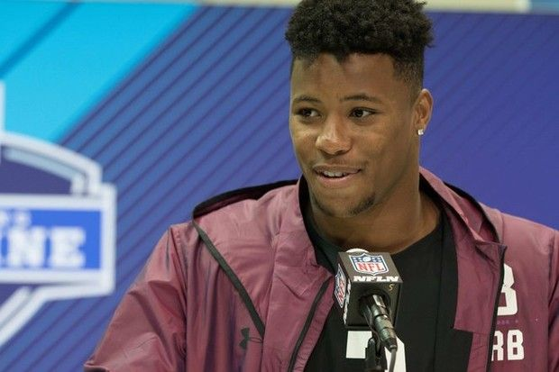 NFL Combine 2018: Saquon Barkley grew up a Jets fan but could they actually draft him?