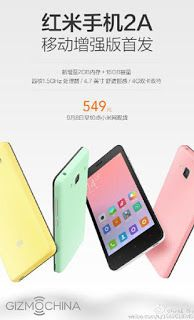 GSM TRENDY: Xiaomi Release Version Upgrade Redmi 2A, Delivers ...