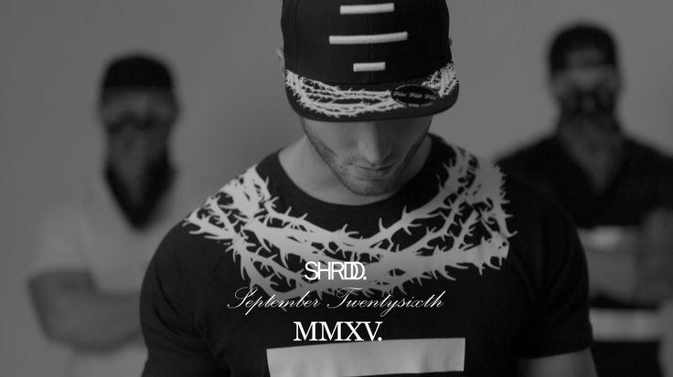 The Thorns T-Shirt Black! Get ready for the new SHRDD Collection! September Twentysixth. Only on shrdd.com!