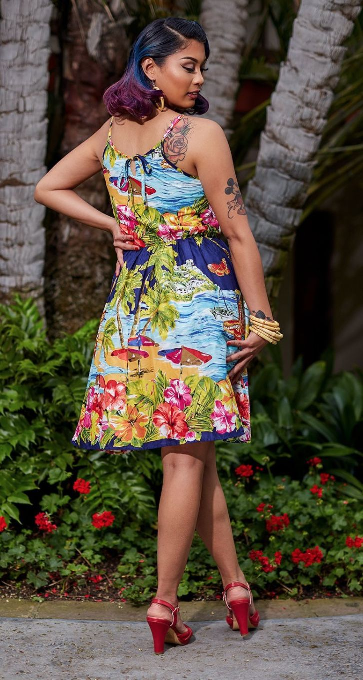 outstanding tropical paradise themed outfit 8