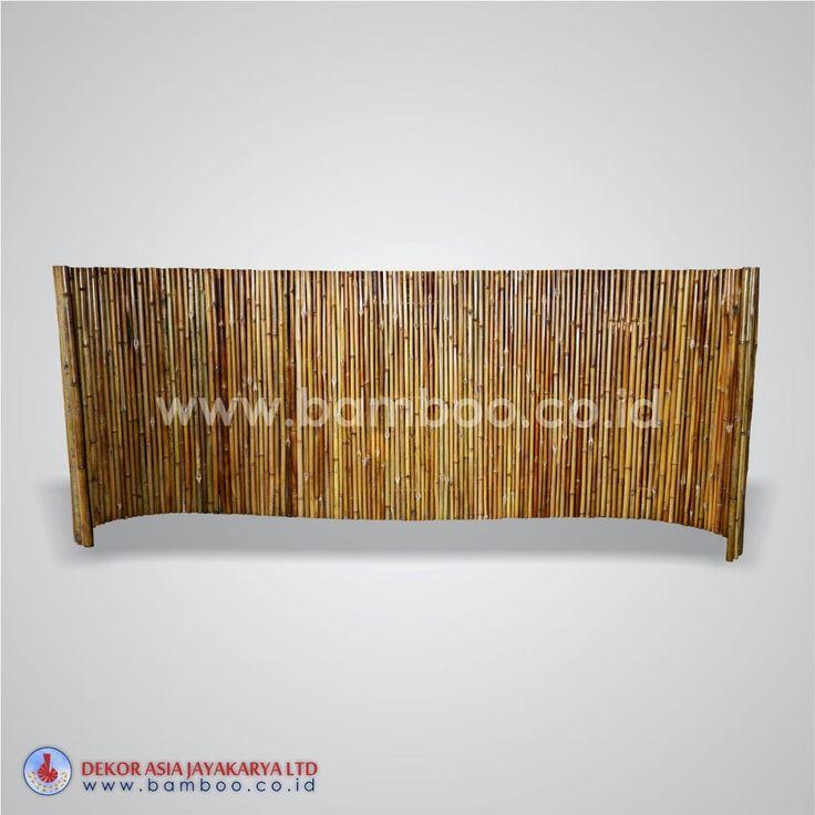 Round Roll Fence of Bamboo Cendani