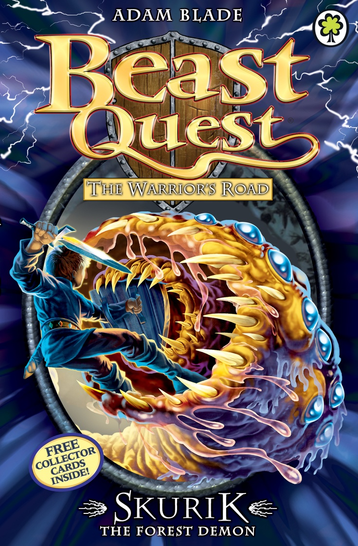 Beast Quest: Skurik the Forest Demon  By Adam Blade  Join Tom on a high-action packed adventure with terrible Beast and deadly danger!
