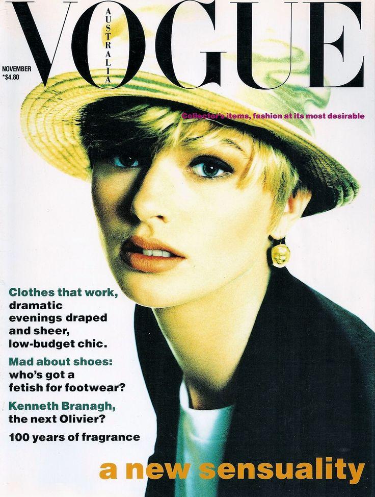Jenny Hayman for Vogue Australia November 1989