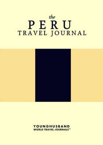 The Peru Travel Journal