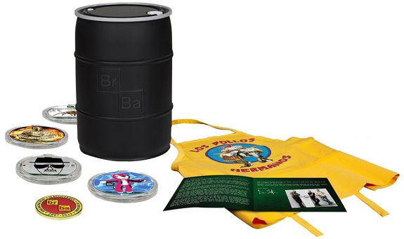 Un'idea regalo per i veri appassionati, collezionisti e amanti di breaking bad. Contiene tutta la serie tv completa in blu-ray e molto altro materiale extra.  #idee #regali #regalo #breakingbad #serietv #bluray