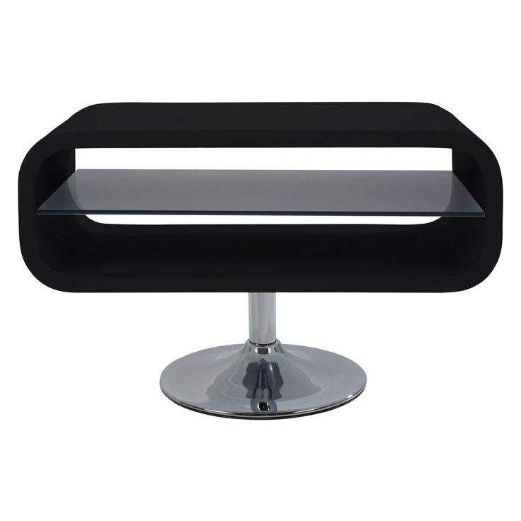 Møbler Scoop TV Table, Black