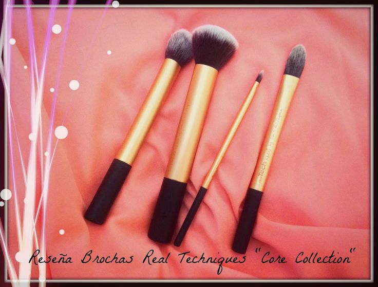 Cata Martínez N: Reseña: Set 4 brochas Real Techniques Core Collect...