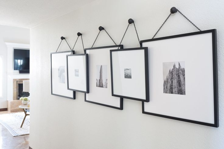 Nice 50 Stunning Photo Wall Gallery Ideas https://decoratoo.com/2017/04/11/50-stunning-photo-wall-gallery-ideas/ Only a few people think of working with this space to earn a gallery wall. This space is a fashionable addition to a residence's design