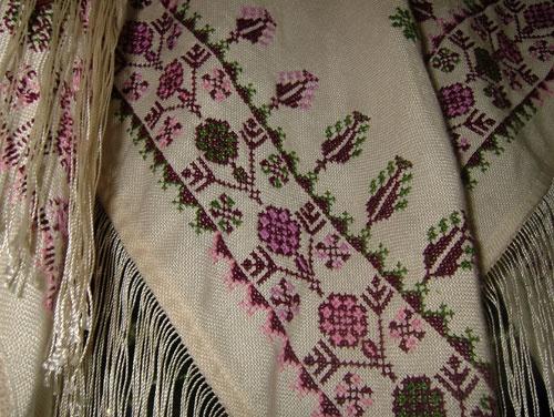 Palestinian embroidery motif