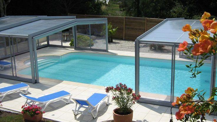 Protéger sa piscine avec un abri c'est surtout en profiter plus longtemps ! #abripiscinerideaupro #triptik