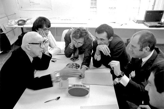 Buckminster Fuller and Norman Foster (around 1980)
