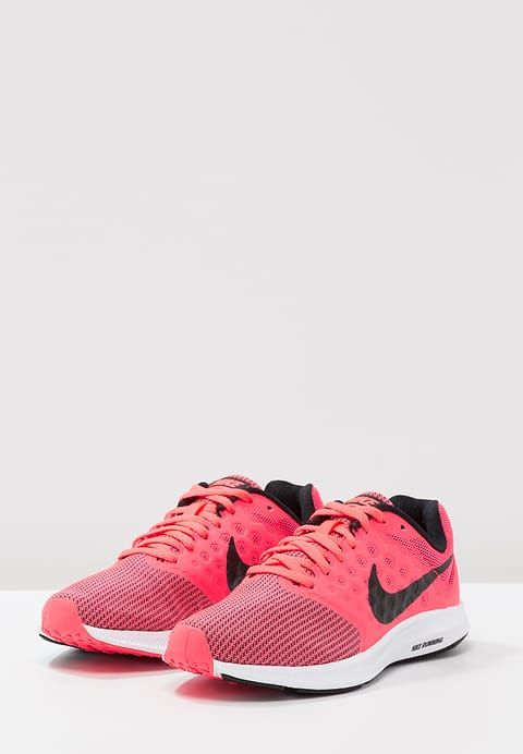 Nike Performance DOWNSHIFTER 7 - Laufschuh Neutral - neon pink - Zalando.de