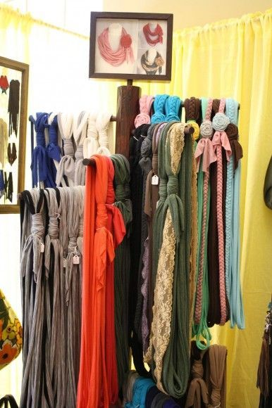 25 Best Ideas About Scarf Display On Pinterest Clothing