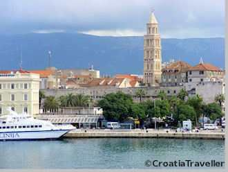 Ferry: Split-Milna-Hvar-Korcula-Dubrovnik Catamaran Schedule