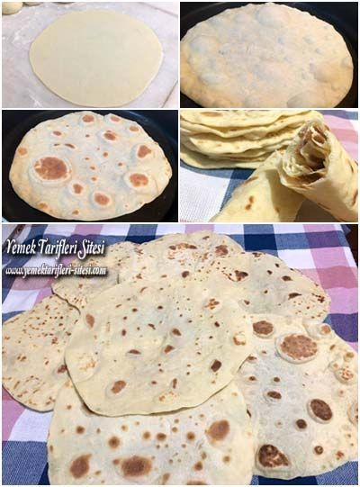 Evde Lavaş Ekmeği Tarifi