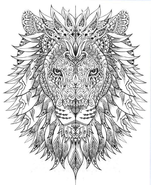 Raja of the Jungle by BioWorkZ , via Behance