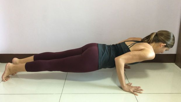 5 Reasons Basic Physics Says It's Never Wise to Jump Back to Plank Pose
