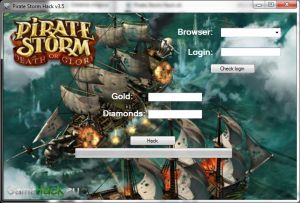 http://gamehack.eu/2012/pirate-storm-hack-v3-5/  Hey! I present to you the latest hack to play Pirate Storm, this is a hack that causes the addition to your game account paid diamonds and gold. If you do not have time to play too, this hack is for you. It will add to your account PAID for diamonds that you can buy it Fregate plus the best extras, such as cannons, sails, or the most powerful bullets, harpoons.    Hack can:  Add – Diamonds  Make – Gold    Enjoy! Do not forget to thank!