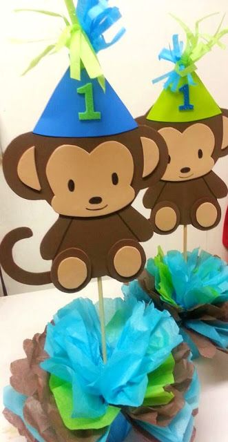 Adriana's Creations: BIRTHDAY THEME CENTERPIECES