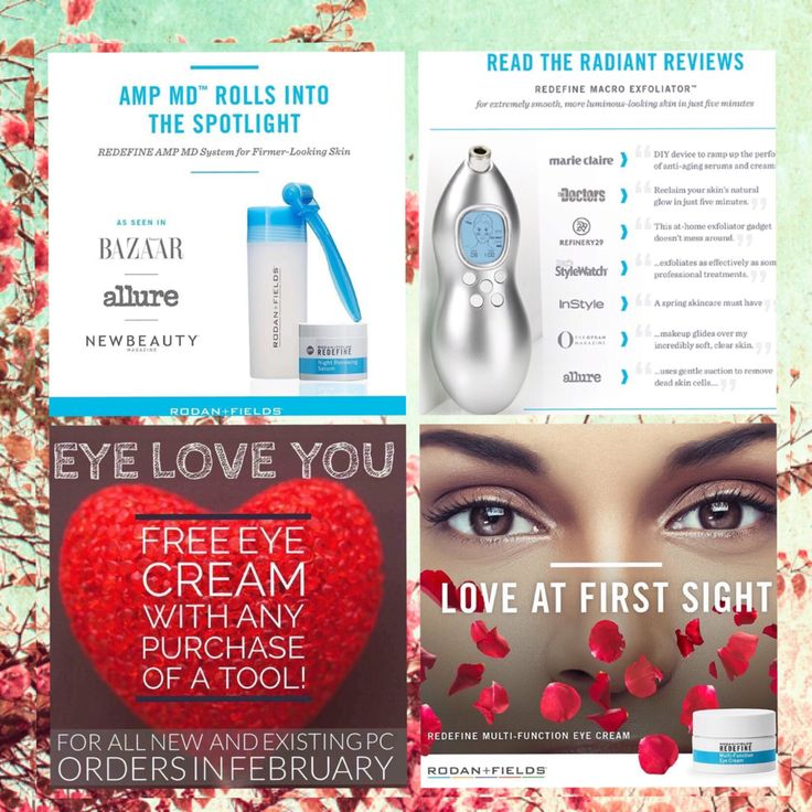 Serious Steal of a Deal on the best R+F has to offer!!! FREE Eye Cream ($60 value + top seller) w/purchase of ANY TOOL ($180/$252)!!! Which is your favorite? Which has your skin been waiting on?!? Thru February '16 so hurry, your skin will thank you with a more softer, radiant glow, fine lines and pore size reduced And the holy grail of all...Firmness and Elasticity!!! YES please!!!