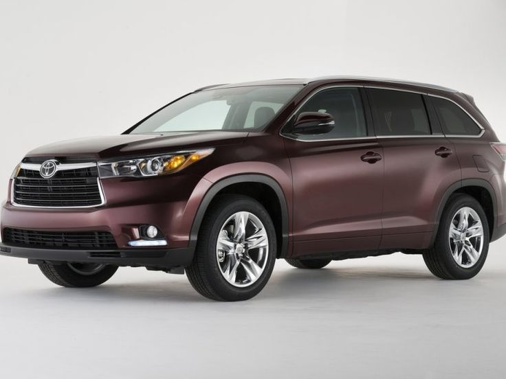 10 Best 8 Passenger Vehicles - Toyota #1
