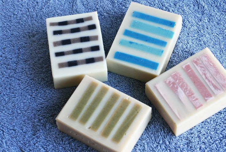 Colorful Stripes Soap - One Leaf Soap-Natural Handmade Soaps