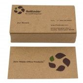 unbleached business cards