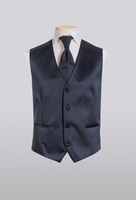 Классический мужской жилет однотонный | Classic men vest plain