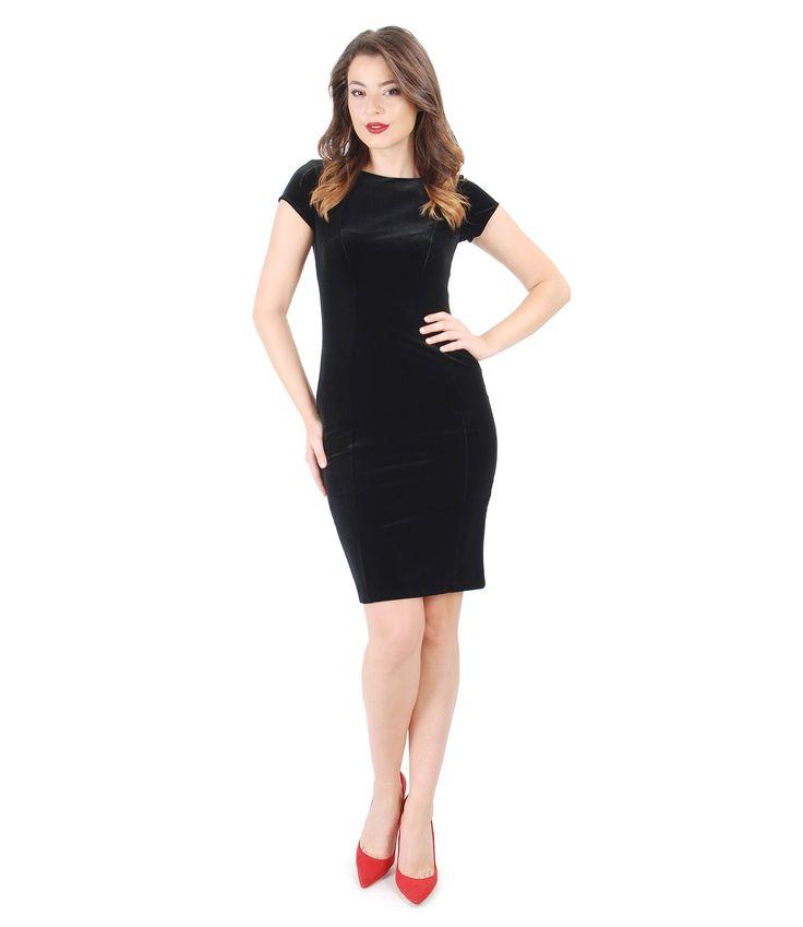 Soft Touch  YOKKO | fall16  #velvet #black #dress #coktail #elasticvelvet 3newcollection #yokko