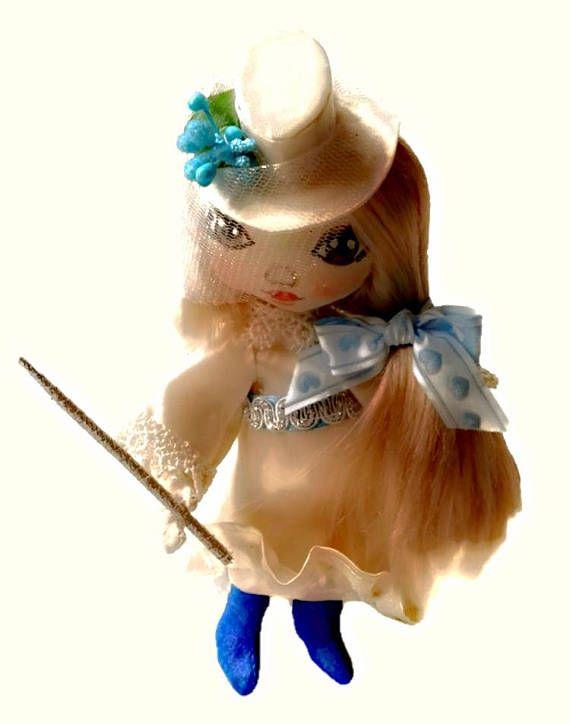 Christmas fairy doll Vintage fairy doll Waldorf fairy