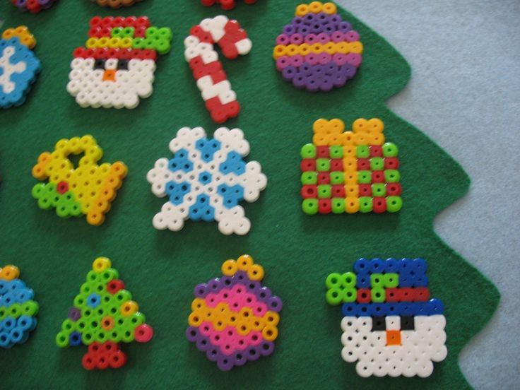 Perler bead ornament ideas