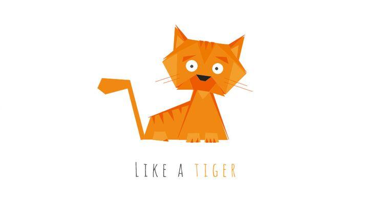 Ilustracja wektorowa z kotem, kot, grafika, freelancer