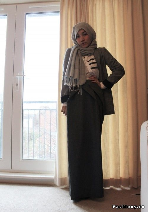 Love this look! Hana Tajima #hijab #hijabi #style #fashion