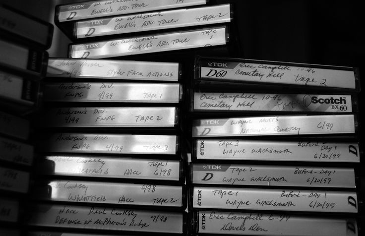 inspiration for Hanna's tape collection