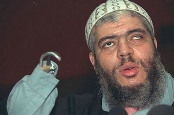 An extremist preacher Abu Hamza al-Masri and 4 others arrive in the US to face terrorist charges.The hate preacher, Abu Hamza al-Masri, is charged in connection with the abduction of 16 people, including two American tourists, in Yemen in 1998; conspiring to set up a terrorist training camp in Bly, Ore., in 1999; and supporting violent jihad in Afghanistan in 2000 and 2001.