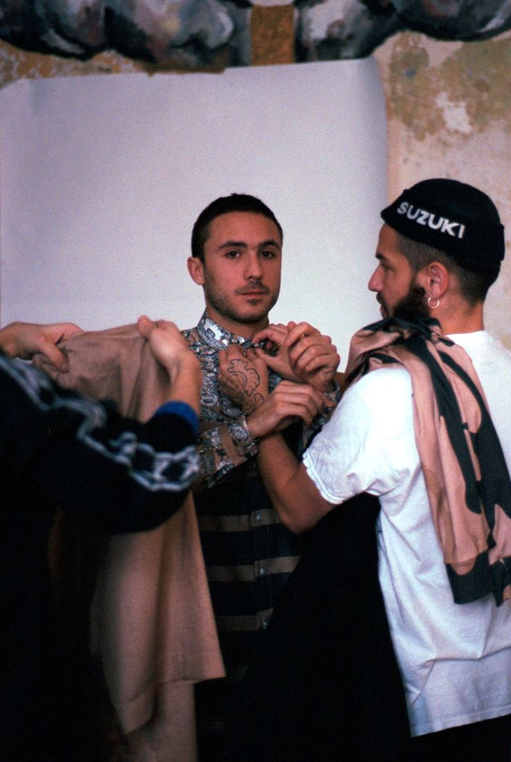 Backstage at Sadak with photography by Ed Phillips