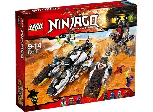 LEGO Ninjago 70595 Stealth-angrepskjøretøy