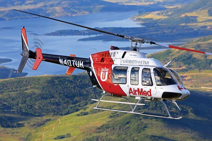 Hélicoptère Bell 407 d'AIR MED