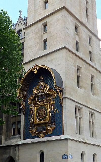 La Conciergerie, Paris, France by Grangeburn, via Flickr